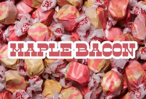 Bulk Taffy Kisses-Maple Bacon