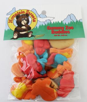 Mtn Hanging Bag-Gummy Zoo Buddies