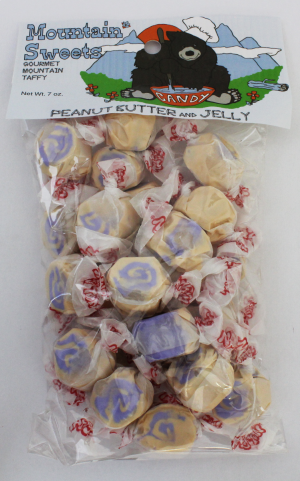 Mtn Sweets Taffy Bags-Peanut Butter & Jelly