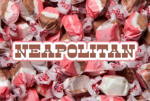 Bulk Taffy Kisses-Neopolitan