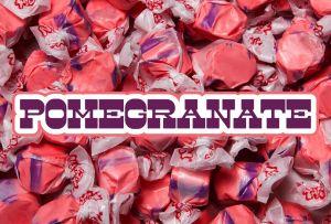Bulk Taffy Kisses-Pomegranate