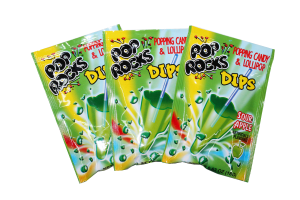 Pop Rocks Dips-Sour Apple