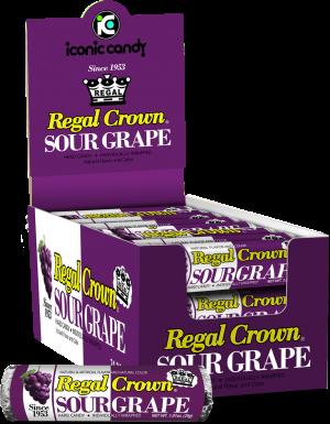 Regal Crown Sour Grape Rolls
