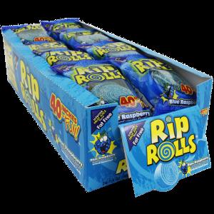 Rip Rolls Blue Raspberry
