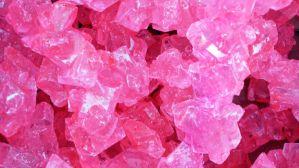 Bulk Rock Candy on a String-Cherry