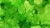 Bulk Rock Candy on a String-Lime