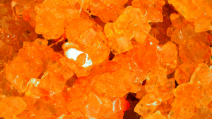 Bulk Rock Candy on a String-Orange