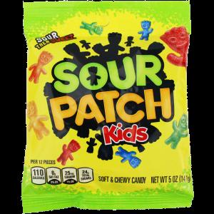 Sour Patch Kids Peg Bag