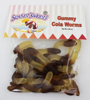S.S. Hanging Bag-Gummy Cola Worms