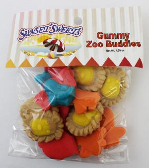 S.S. Hanging Bag-Gummy Zoo Buddies