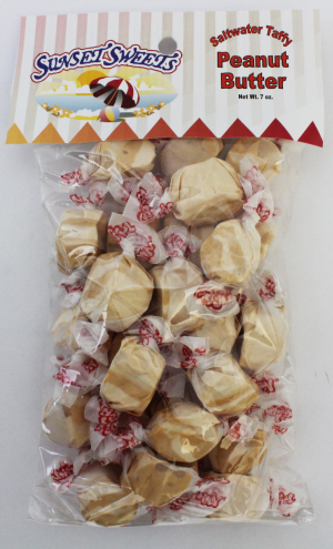 S.S. Sweets Taffy Bags-Peanut Butter