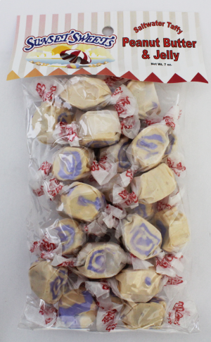 S.S. Sweets Taffy Bags-Peanut Butter & Jelly
