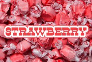 Bulk Taffy Kisses-Strawberry