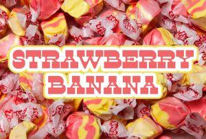 Bulk Taffy Kisses-Strawberry Banana