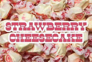 Bulk Taffy Kisses-Strawberry Cheesecake
