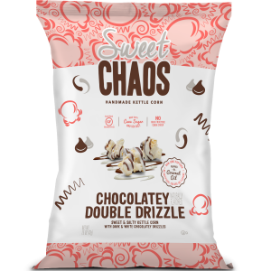 Sweet Chaos Choc Double Drizzle Popcorn