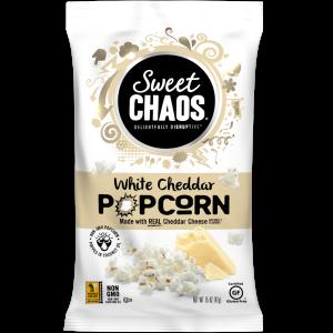 Sweet Chaos White Cheddar Popcorn