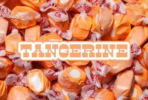Bulk Taffy Kisses-Tangerine