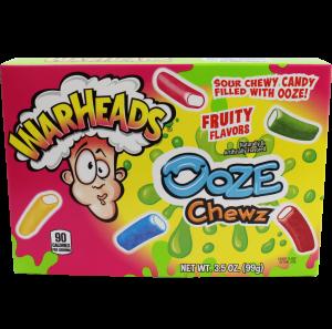 Warheads Ooze Chewz Theater Box